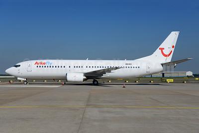 Arkefly (TUI Airlines Nederland) (AirExplore) Boeing 737-46J OM-DEX (msn 28867) AMS (Ton Jochems). Image: 912294.