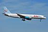 Arkefly (TUI Airlines Nederland) (Skyservice Airlines) Boeing 757-2Y0 C-FLOX (msn 26158) BRU (Karl Cornil). Image: 907971.