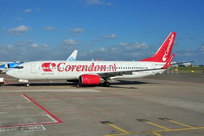 Corendon Dutch Airlines (Corendon.nl) Boeing 737-8KN WL PH-CDE (msn 35795) AMS (Ton Jochems). Image: 906457.