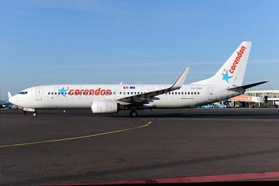Corendon Dutch Airlines (Corendon.nl) (euroAtlantic Airways) Boeing 737-8K2 WL CS-TQU (msn 30646) AMS (Ton Jochems). Image: 928775.