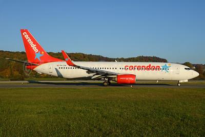 Corendon Dutch Airlines Boeing 737-8KN WL PH-CDE (msn 35795) ZRH (Rolf Wallner). Image: 935420.