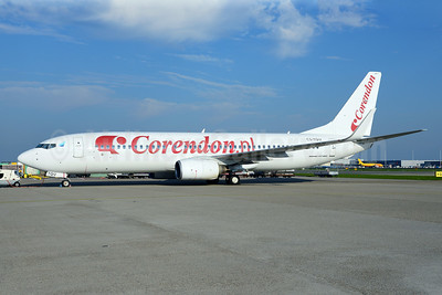 Corendon Dutch Airlines (Corendon.nl) (euroAtlantic Airways) Boeing 737-8K2 WL CS-TQU (msn 30646) AMS (Ton Jochems). Image: 921451.