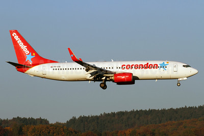 Corendon Dutch Airlines Boeing 737-8KN WL PH-CDE (msn 35795) ZRH (Andi Hiltl). Image: 935421.