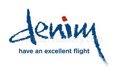 1. Denim Air logo