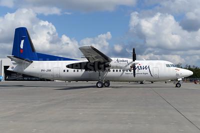 First Denim Air Fokker 50 in full colors
