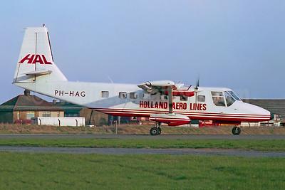 Holland Aero Lines - HAL GAF N-24A Nomad PH-HAG (msn N24A-74FA) SEN (Keith Burton). Image: 951944.
