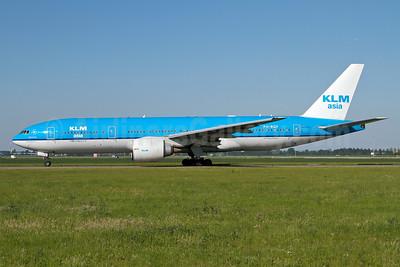 KLM Asia (KLM Royal Dutch Airlines) Boeing 777-206 ER PH-BQF (msn 29398) AMS (Arnd Wolf). Image: 908391.