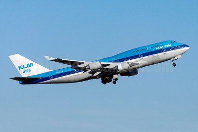 KLM Asia (KLM Royal Dutch Airlines) Boeing 747-406 PH-BFH (msn 24518) YYZ (TMK Photography). Image: 909775.