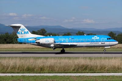 KLM Cityhopper Fokker F.28 Mk. 0070 (Fokker 70) PH-KZG (msn 11578) BSL (Paul Bannwarth). Image: 927975.