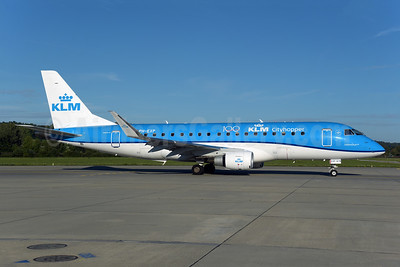 KLM Cityhopper Embraer ERJ 170-200STD (ERJ 175) PH-EXP (msn 17000678) (100 Years) ZRH (Rolf Wallner). Image: 951211.