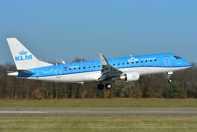 KLM Cityhopper Embraer ERJ 170-200STD (ERJ 175) PH-EXI (msn 17000578) BSL (Paul Bannwarth). Image: 937413.