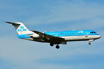 KLM Cityhopper Fokker F.28 Mk. 0070 (Fokker 70) PH-WXD (msn 11563) BSL (Paul Bannwarth). Image: 937635.