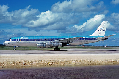 KLM Royal Dutch Airlines - PAL McDonnell Douglas DC-8F-55 Jet Trader PH-DCU (msn 45859) SYD (Christian Volpati Collection). Image: 934439.