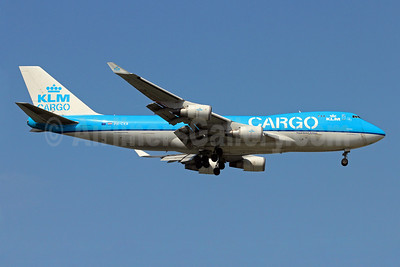 KLM Cargo (Royal Dutch Airlines) Boeing 747-406 ERF PH-CKB (msn 33695) SIN (Christian Volpati). Image: 910093.