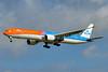 KLM's #OrangePride special livery