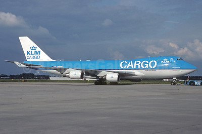 KLM Cargo (Royal Dutch Airlines) Boeing 747-406 ERF F-GIUF (msn 35233) AMS (Jacques Guillem Collection). Image: 933082.