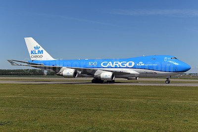 KLM Cargo (Royal Dutch Airlines) - Martinair Boeing 747-406 ERF PH-CKC (msn 33696) AMS (Ton Jochems). Image: 951925.