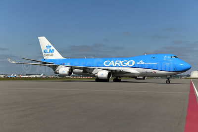 KLM Cargo (Royal Dutch Airlines) - Martinair Boeing 747-406 ERF PH-CKB (msn 33695) AMS (Ton Jochems). Image: 946938.