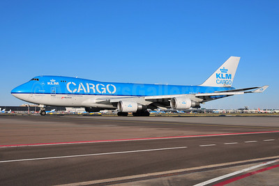 KLM Cargo (Royal Dutch Airlines-Martinair) Boeing 747-406 ERF PH-CKA (msn 33694) AMS (Ton Jochems). Image: 904441.