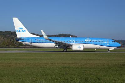 KLM Royal Dutch Airlines Boeing 737-8K2 WL PH-BCA (msn 37820) ZRH (Rolf Wallner). Image: 955577.