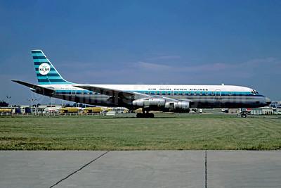 KLM Royal Dutch Airlines McDonnell Douglas DC-8F-55 Jet Trader PH-DCU (msn 45859) LBG (Christian Volpati). Image: 948751.