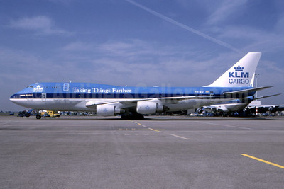 "KLM's 1998 ""Taking Things Further"" livery"