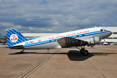 KLM Royal Dutch Airlines (Dutch Dakota Association Douglas C-47A-DK (DC-3A-456) PH-PBA (msn 19434) AMS (Ton Jochems). Image: 906776.