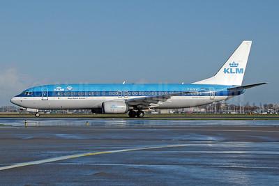 KLM Royal Dutch Airlines Boeing 737-8K2 PH-BXD (msn 29134) AMS (Ton Jochems). Image: 953384.