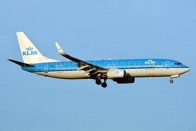 KLM Royal Dutch Airlines Boeing 737-8K2 WL PH-BXI (msn 30358) ZRH (Paul Bannwarth). Image: 941273.