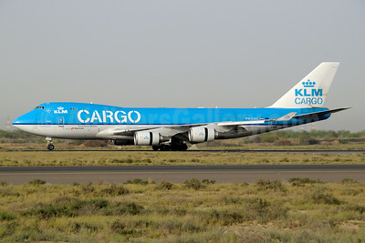 KLM Cargo (Royal Dutch Airlines) - Martinair Boeing 747-406 ERF PH-CKC (msn 33696) SHJ (Paul Denton). Image: 944655.
