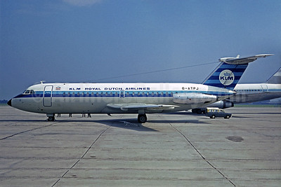 Leased from British Eagle on June 29, 1968