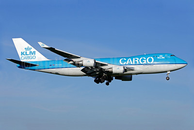 KLM Cargo (Royal Dutch Airlines) Boeing 747-406 ERF PH-CKC (msn 33696) AMS (Gabor Hajdufi). Image: 906880.