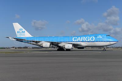 KLM Cargo (Royal Dutch Airlines) Boeing 747-406 ERF PH-CKC (msn 33696) AMS (Ton Jochems). Image: 926538.