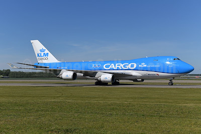 KLM Cargo (Royal Dutch Airlines) - Martinair Boeing 747-406 ERF PH-CKB (msn 33695) AMS (Ton Jochems). Image: 951924.