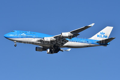 KLM Royal Dutch Airlines Boeing 747-406 PH-BFT (msn 28459) JFK (Fred Freketic). Image: 949393.