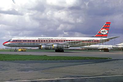 Martinair Holland-MAC McDonnell Douglas DC-8F-55 Jet Trader PH-MAS (msn 45824) AMS (Jacques Guillem Collection). Image: 933075.
