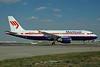 Martinair Airbus A320-214 D-AXLC (msn 1564) (USA 3000 Airlines colors) FRA (Bernhard Ross). Image: 902761.