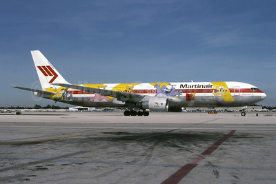 "Martinair's 2002 ""Fox Kids"" promotional livery"