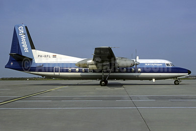 KLM CityHopper Fokker F.27 Mk. 500 PH-KFL (msn 10606) CDG (Christian Volpati). Image: 920586.