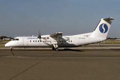 Sabena-Schreiner Airways de Havilland Canada DHC-8-311 Dash 8 PH-SDP (msn 300) LHR (SPA). Image: 954139.