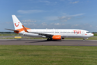 TUI Airlines (Netherlands) (Sunwing Airlines) Boeing 737-8HX SSWL C-FTOH (msn 29647) (partial Sunwing colors) AMS (Ton Jochems). Image: 942201.