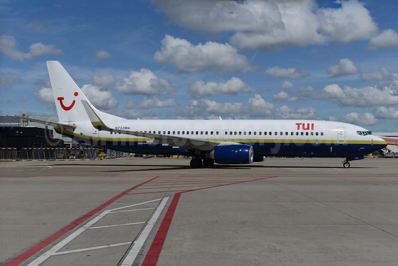 TUI Airlines (Netherlands) (Miami Air) Boeing 737-81Q WL N732MA (msn 30618) (Miami Air colors) AMS (Ton Jochems). Image: 934026.