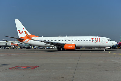 TUI Airlines (Netherlands) (Sunwing Airlines) Boeing 737-8HX SSWL C-FLSW (msn 36552) (partial Sunwing colors) AMS (Ton Jochems). Image: 942205.