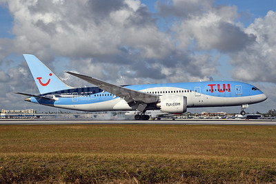 TUI Airlines (Netherlands) Boeing 787-8 Dreamliner PH-TFK (msn 36427) MIA (Bruce Drum). Image: 104592.