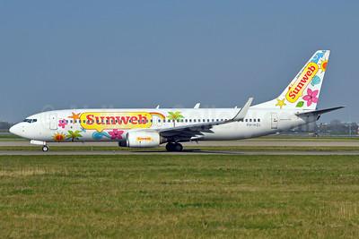 Sunweb (Transavia Airlines Netherlands) Boeing 737-8K2 WL PH-HZL (msn 30391) AMS (Karl Cornil). Image: 912035.