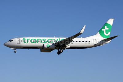 Transavia Airlines (Netherlands) Boeing 737-8K2 WL PH-HZD (msn 28376) PMI (Javier Rodriguez). Image: 934188.