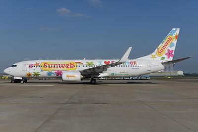 "Sunweb (Transavia Airlines Netherlands) Boeing 737-8K2 WL PH-HSA (msn 34171) ""I love summer"" AMS (Ton Jochems). Image: 927326."