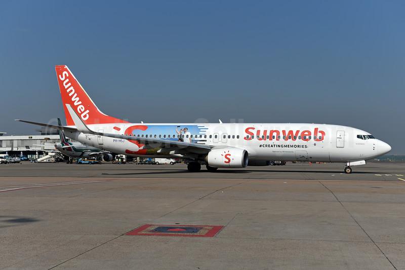 """Transavia's 2018 Sunweb special livery - """"Sunweb Express"""""""