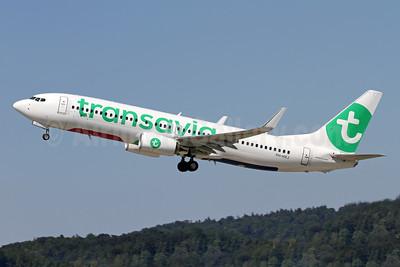 Transavia Airlines (Netherlands) Boeing 737-8K2 WL PH-HXJ (msn 62159) ZRH (Andi Hiltl). Image: 939045.