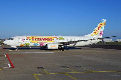 Sunweb (Transavia Airlines Netherlands) Boeing 737-8K2 WL PH-HZW (msn 29345) AMS (Ton Jochems). Image: 911854.